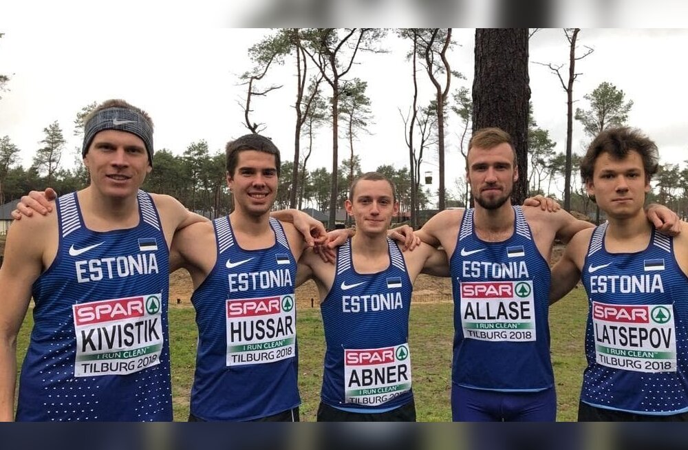 Murdmaajooksu EM-il võistelnud Eesti koondis