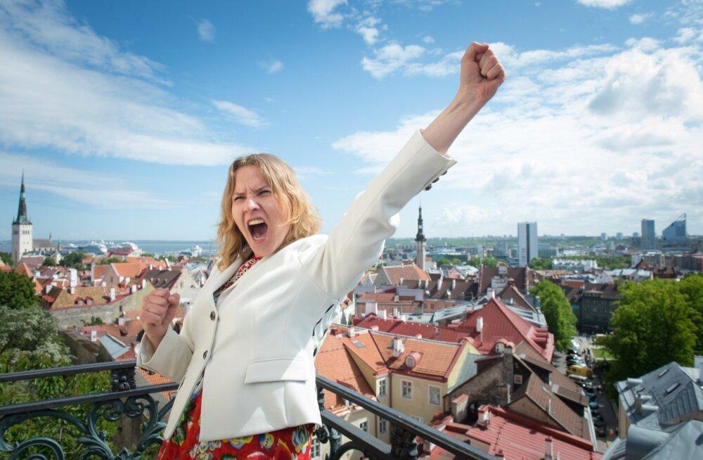 Soome saatkonna pressi- ja kultuurinõuniku Marjo Näkki temperament ei sarnane sugugi keskmise soomlasega. Ta on alati heatujuliselt särtsakas ja pakatab energiast.