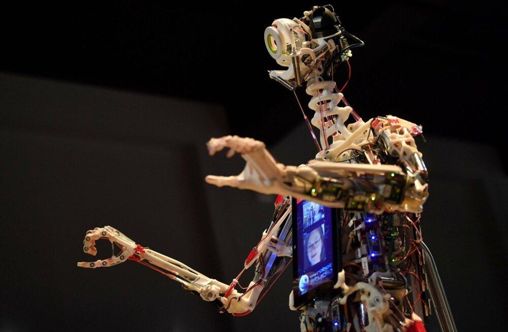 Briti inseneri Rob Knighti ehitatud robot