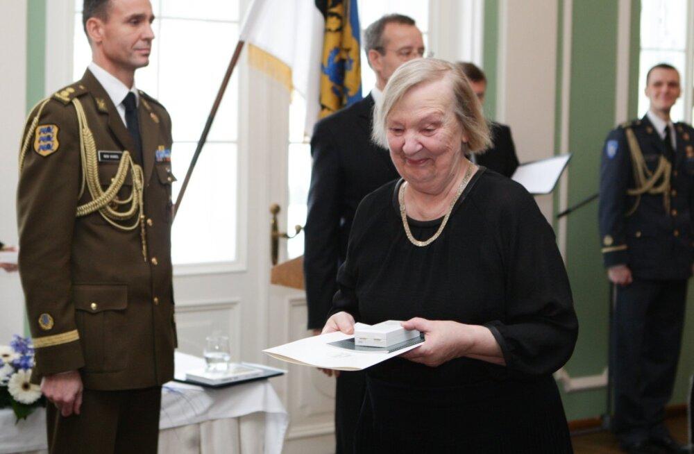 Eesti tunnustab. Teenetemärgid