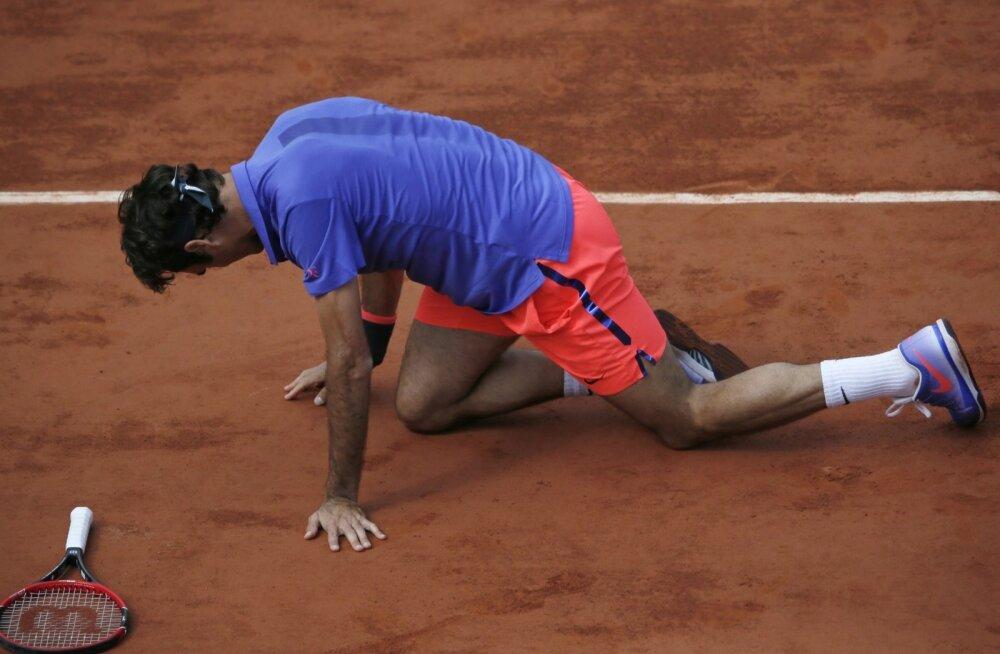 Roger Federer tundub olevat raudmees, kuid temagi pidi mullu vigastuste tõttu turniire vahele jätma.