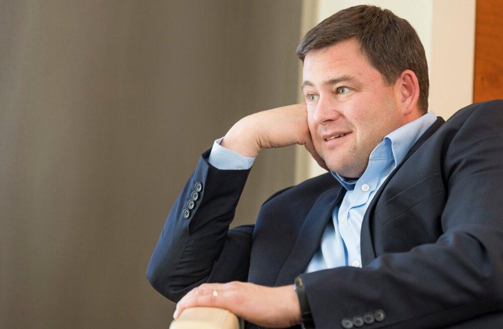 Robert Kitt võib Swedbanki tulemustega rahul olla.