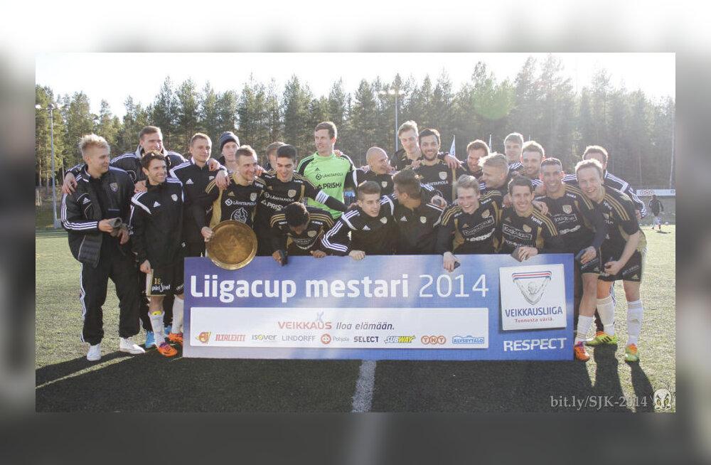Aksalu ja Kamsi koduklubi võitis Soome liigakarika