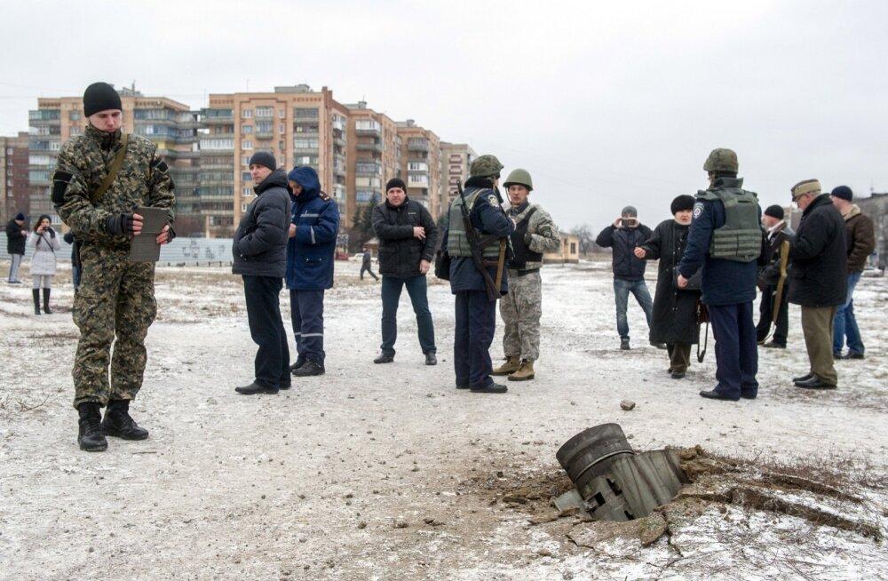 Ukraina kindralstaap: Kramatorskit tulistati mässuliste territooriumilt neljast Smertšist