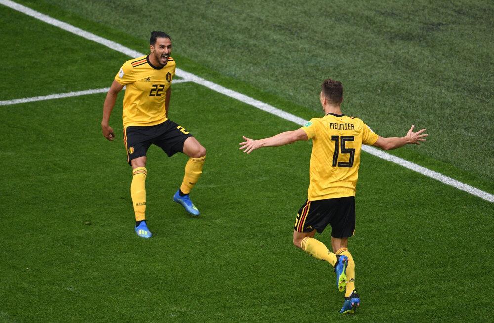 BLOGI | Oma ajaloo edukaima MM-i teinud Belgia võitis Meunieri ja Hazardi väravatest Inglismaad 2:0