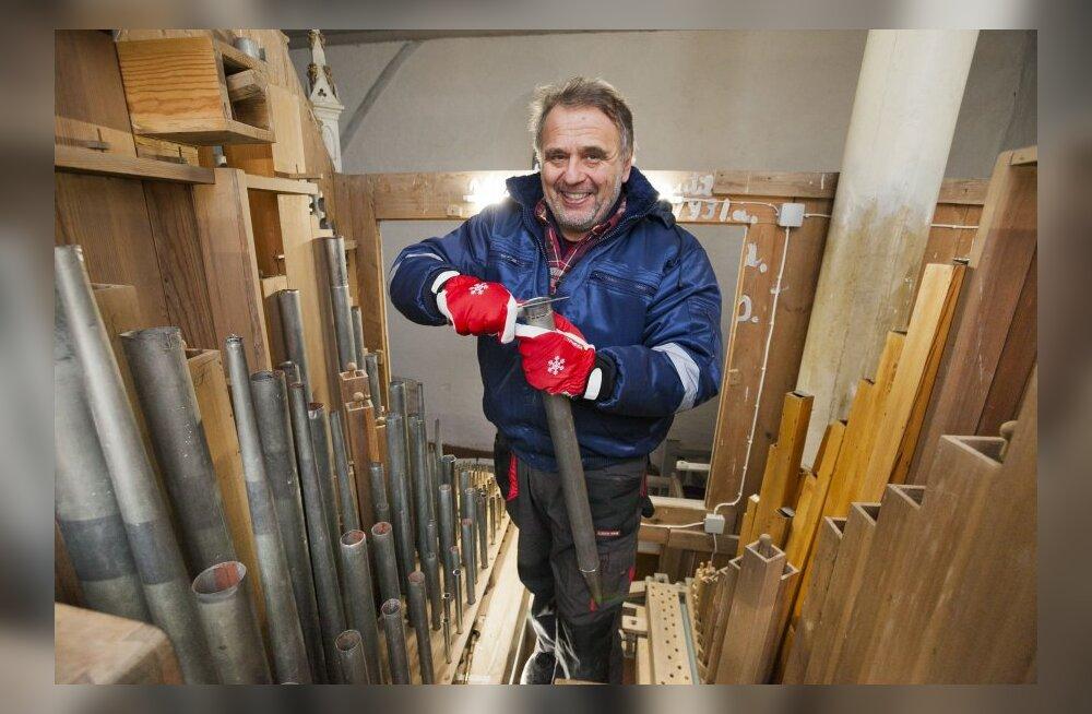 HOMSES MAALEHES: Eesti mees remondib kahe riigi oreleid