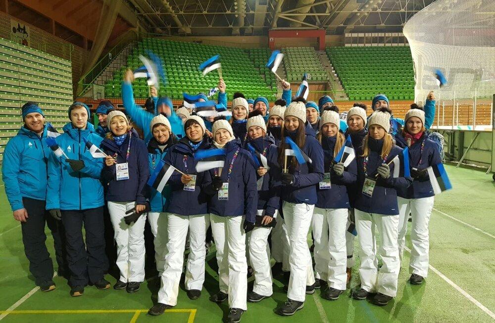 Euroopa noorte olümpiafestivalil asuvad esimesena võistlustulle mäe- ja murdmaasuusatajad