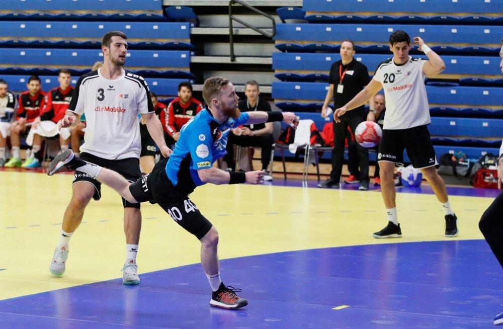 Käsipall Eesti versus Šveits