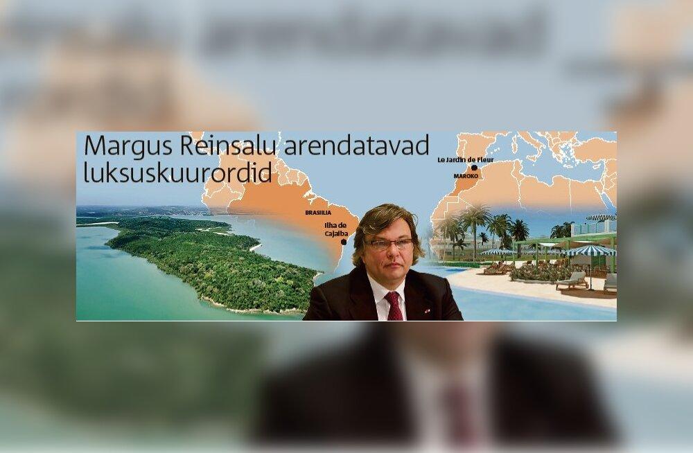 Reinsalu jäi troopikasaarel üksi