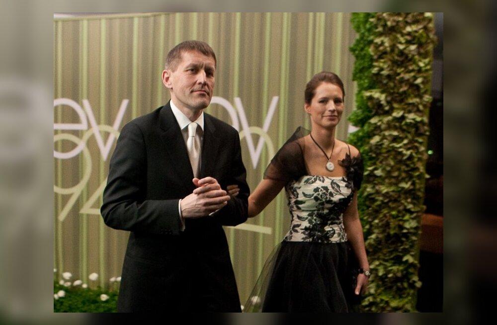 Hannes Tamjärv võttis juuni viimasel päeval naise