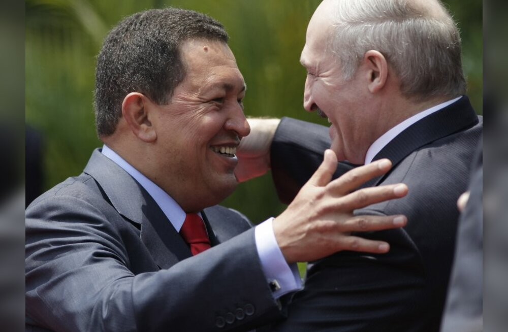 Hugo Chávez ja Aljaksandr Lukašenka