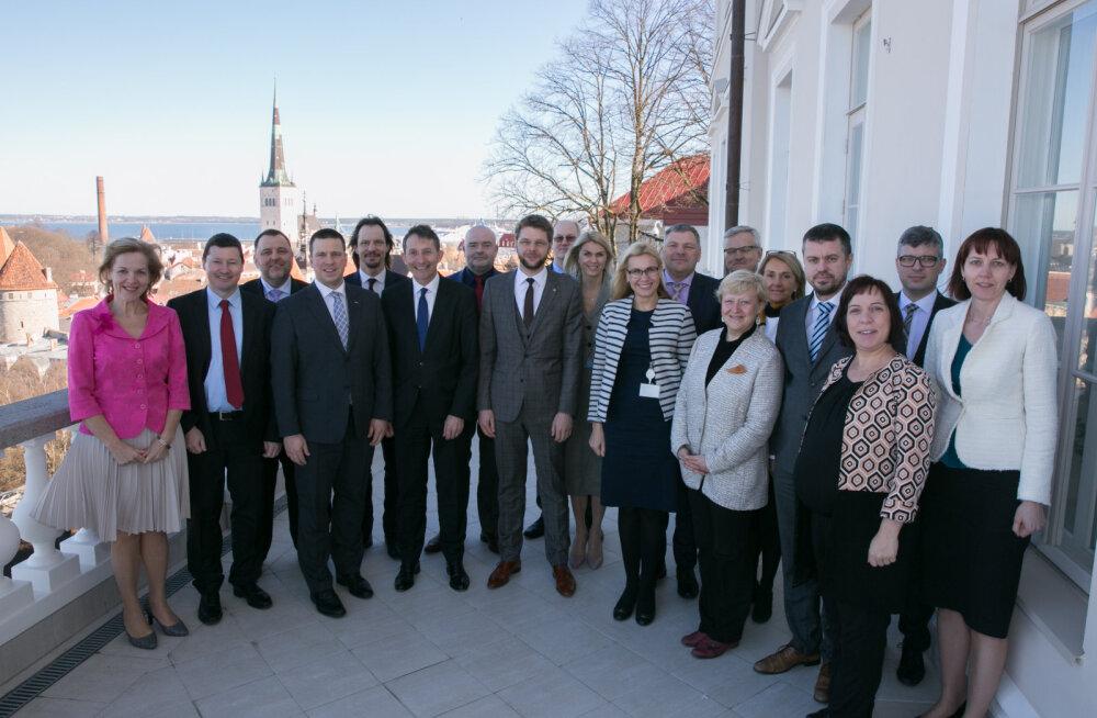 Перед началом председательства в ЕС правительство встретилось с представителями Еврокомиссии
