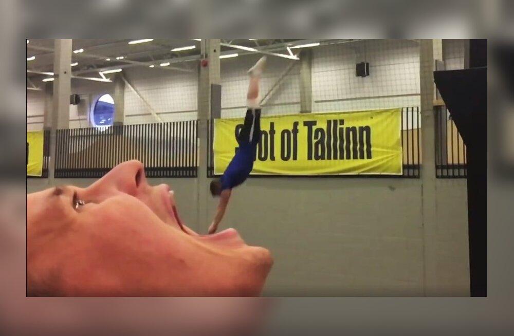 VIDEO | Seda Eesti akrobaatide trikivideot on vaadatud pea 8 miljonit korda!
