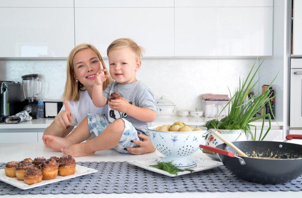 Herman armastab ema küpsetatud kaneelisaiu, ent ei ütle ära ka vürtsikatest toitudest.