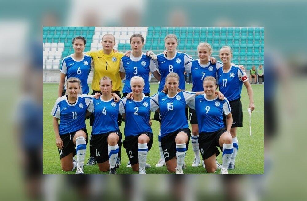 Eesti naiste jalgpallikoondis, Signy Aarna nr 9