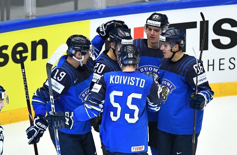 Jäähoki Soome vs USA