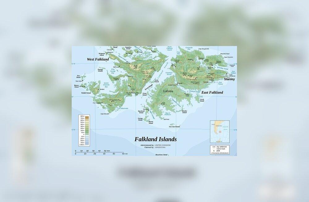 Falklandi saared - mis imelik koht see siis on, et riike tülli ajab?