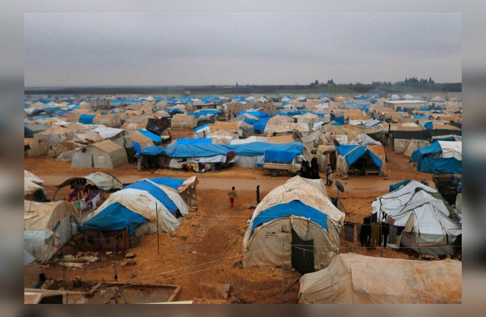 Süüria põgenikelaagri juht: kuu aja pärast algab siin nälg