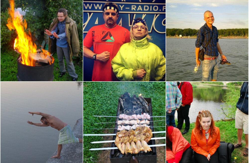"""""""Шашлындос"""" — самое сумасшедшее видео лета! Смотрите ответ ведущих SKY Радио группе """"Хлеб"""" и их треку!"""