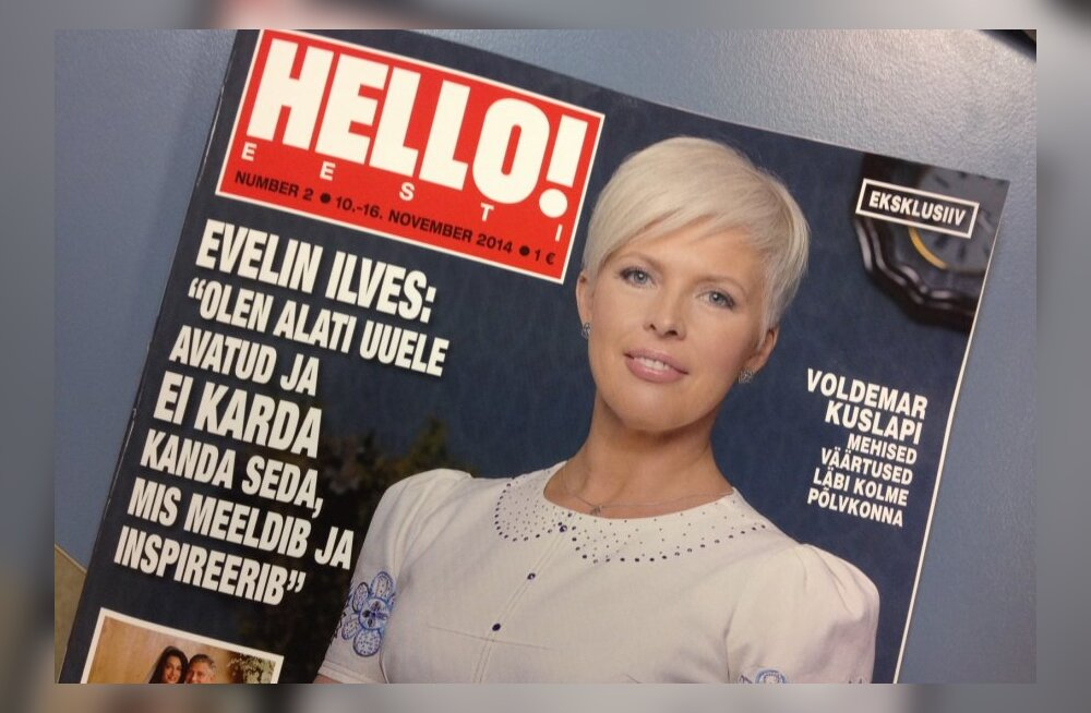 Evelin Ilves uue ajakirja Hello! kaanel: 9 lehekülge artiklit, 10 lauset eksklusiivi!