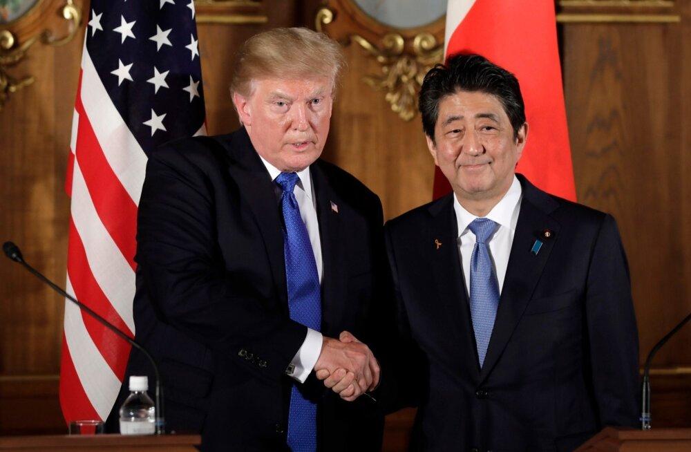 Trump: Jaapan tulistaks Põhja-Korea raketid taevast alla, kui ostaks USA relvi