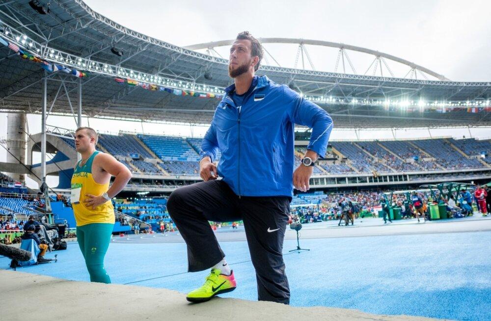 Rio de Janeiro olümpia meeste kettaheite kvalifikatsioon