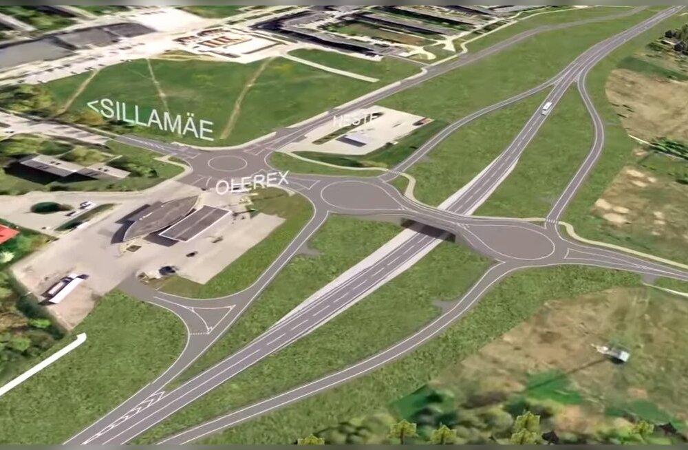 За счет государства в Силламяэ построят новую дорогу вдоль шоссе