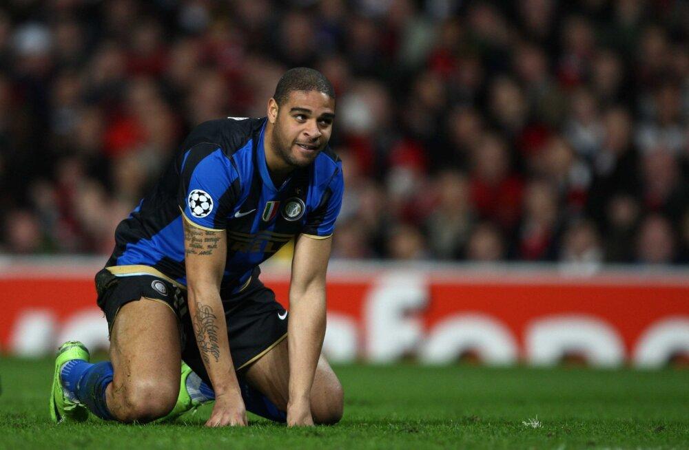 Eksründaja Adriano: tulin tihti juua täis peaga treeningule, aga Inter ütles, et olen vigastatud