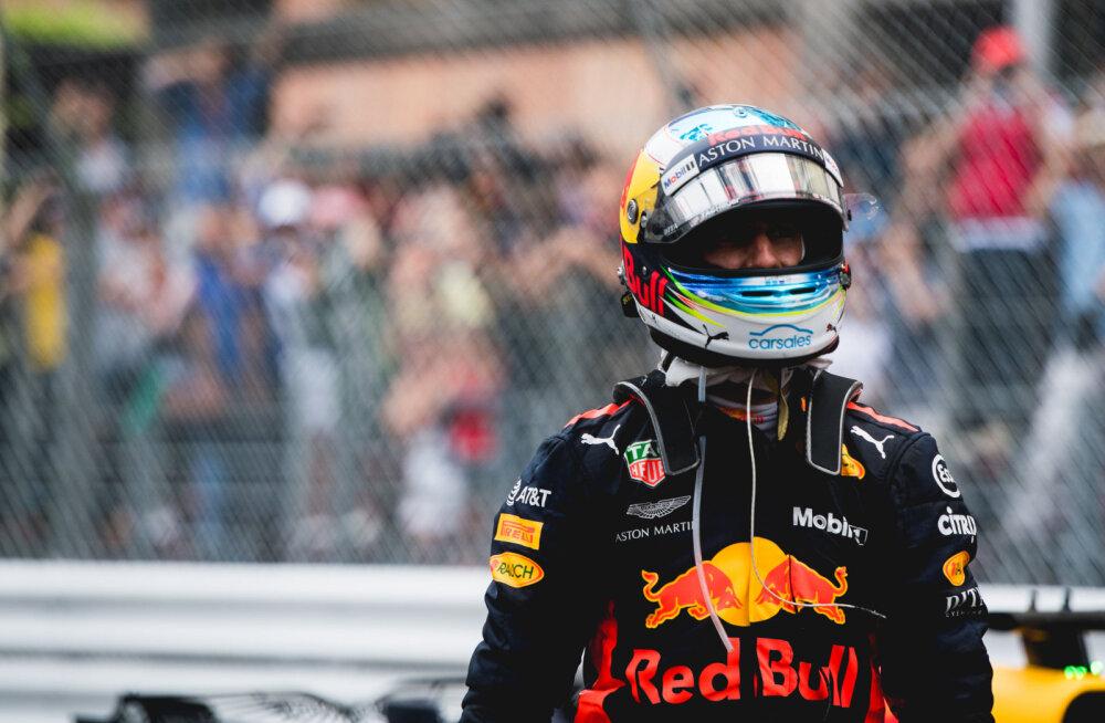 Ricciardo peab Kanadas karistust kandma