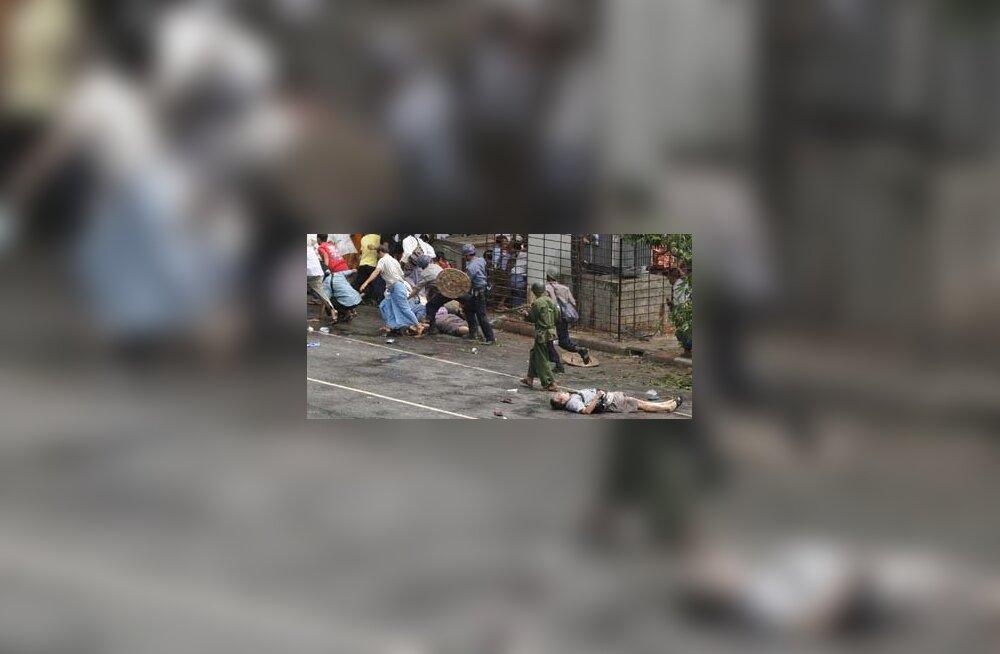 Jaapani telekanal: Birmas hukkunud ajakirjanik tapeti tahtlikult