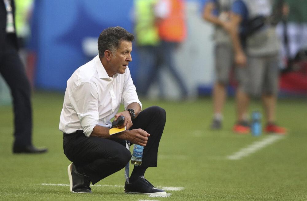 Mehhiko koondise peatreener pärast kaotust: tahaksin tänada fänne ja vabandan, et me oma eesmärki ei täitnud