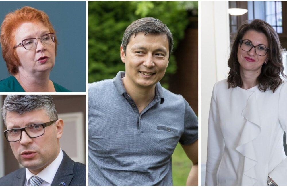 Yana Toom, Mihhail Kõlvart, Olga Ivanova ja Mihhail Korb