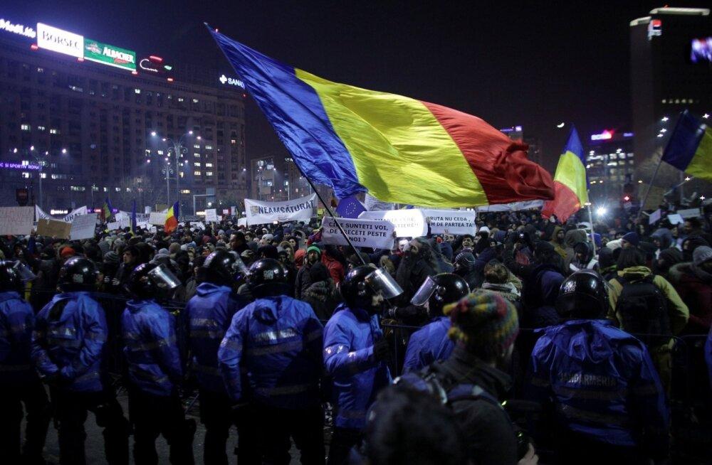 Teisipäeval Bukarestis toimunud korruptsioonivastane meeleavaldus võttis hiiglaslikud mõõtmed.