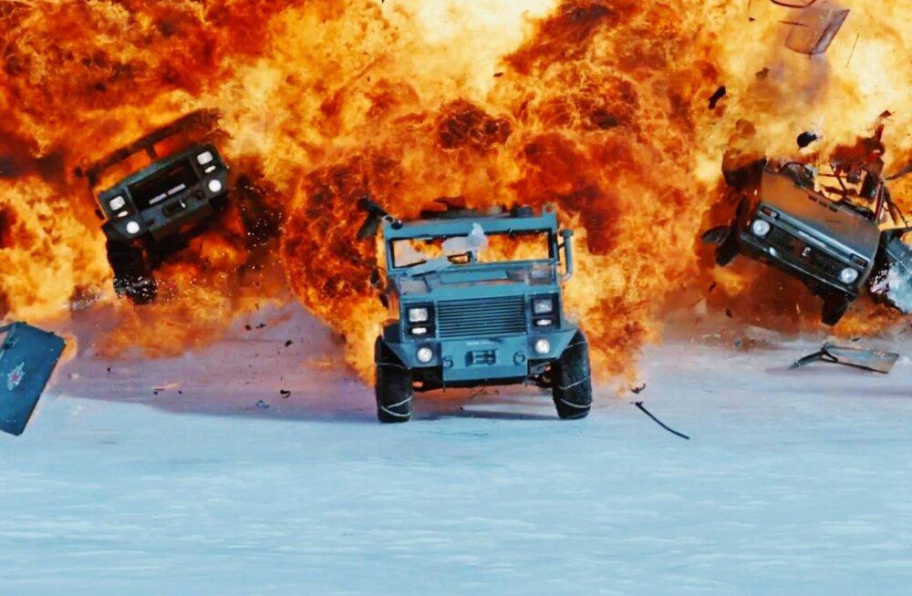 """TOP8: mis on """"Kiired ja vihased"""" seeria parim film?"""