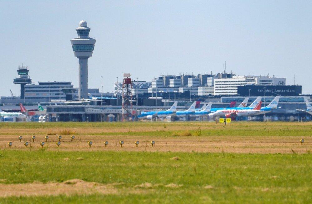 Lennuliiklust Amsterdami lennuväljal häirib probleem lennujuhtimisega