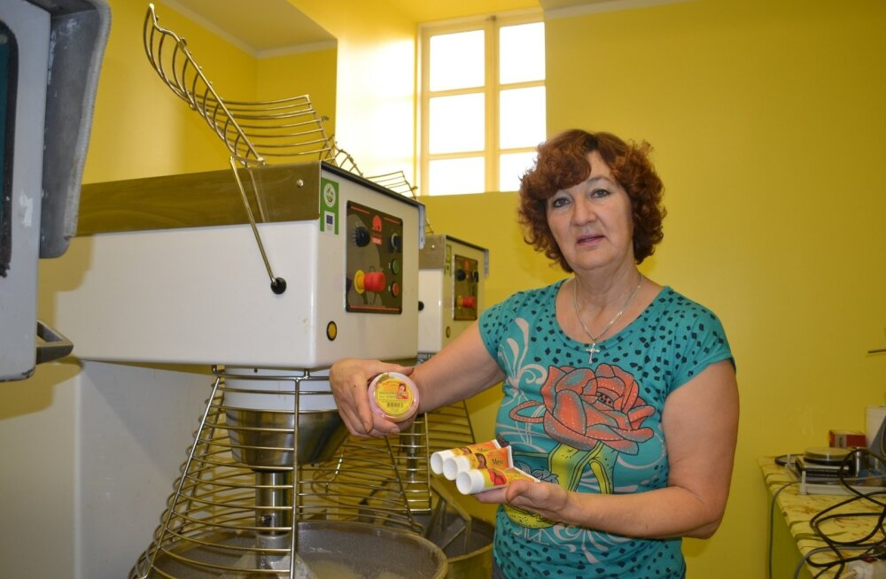 Mullune aasta mesinik Maire Valtin on esimesi, kes hakkas Eestis tootma meesegusid.