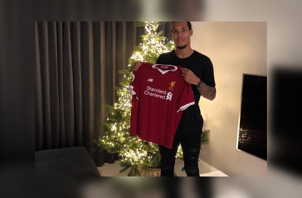 AMETLIK | Liverpool hangib endale maailmarekordilise summa eest uue keskkaitsja!