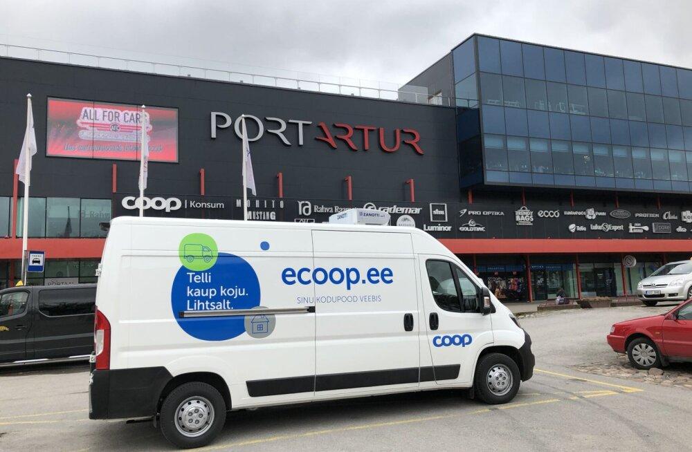 Coopi e-pood alustas tegevust Pärnus