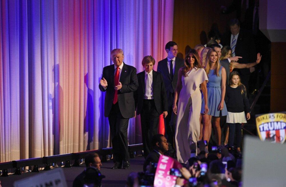 Donald Trump perega