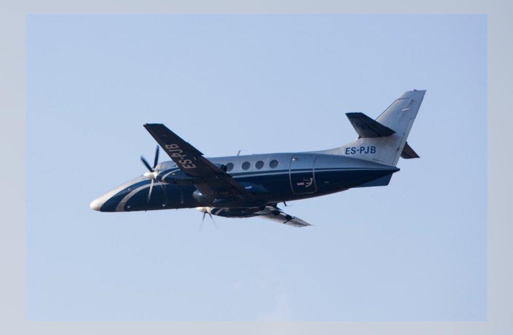 tallinn kuressaare lennuk