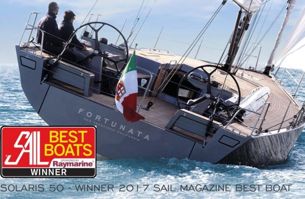 Purjekas ahoi: milline purjejaht on 2017. aastal parim ja milline suurim maailmas
