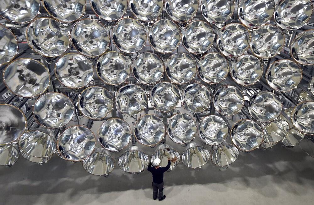 Ja valgus sai: saksa teadlased lülitasid täna sisse maailma suurima tehispäikese