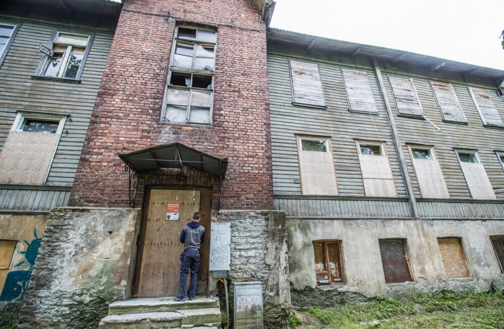 Kopli maja, kus tulistamine toimus.