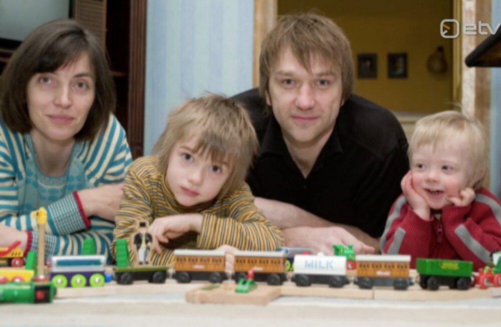 Hannes Hermaküla oma Downi sündroomiga pojast: mul mehena oli teda raske alguses omaks võtta
