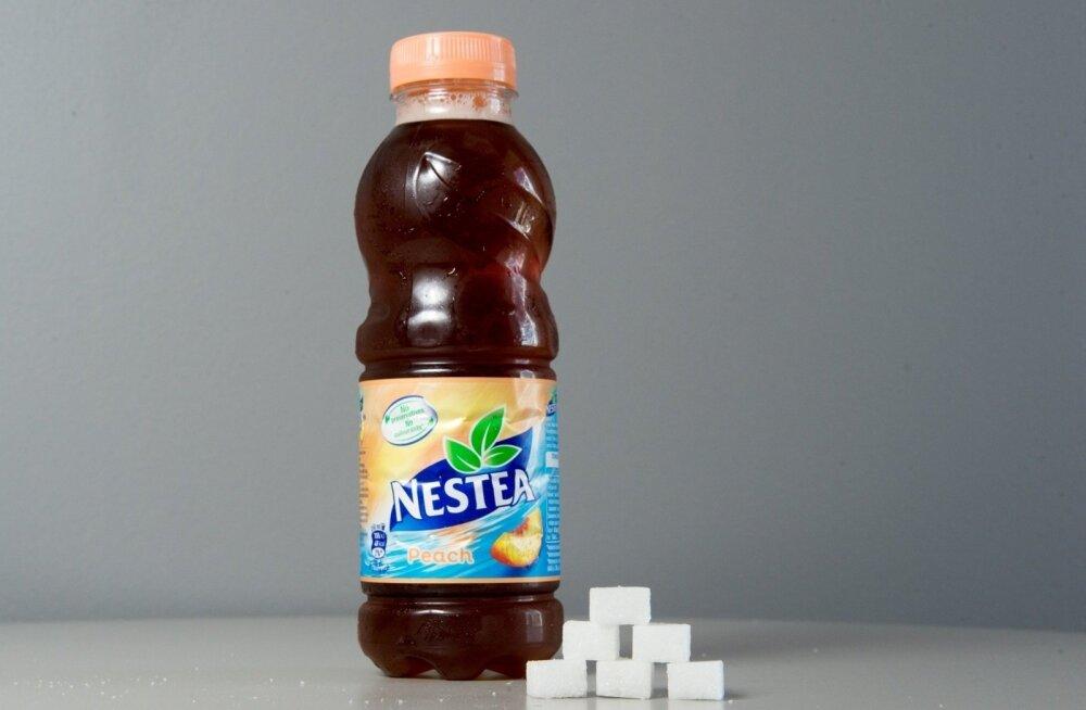 Словно испарился. Куда делся с прилавков эстонских магазинов холодный чай Nestea?