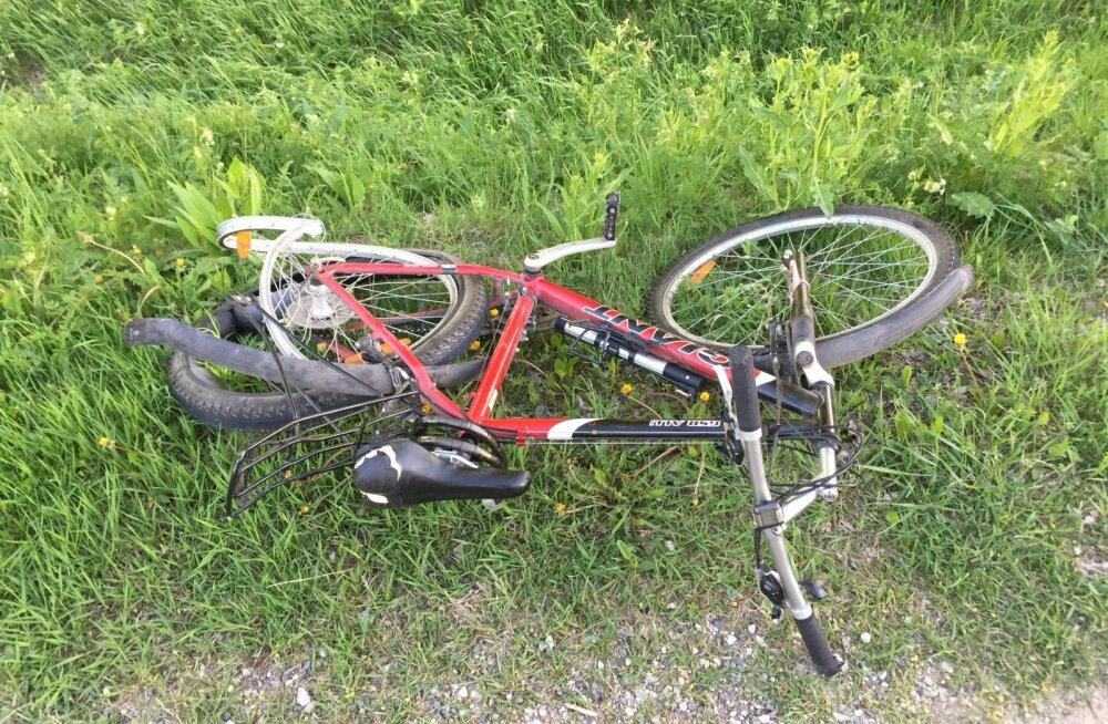 В прошлом году в дорожном движении пострадало 175 велосипедистов