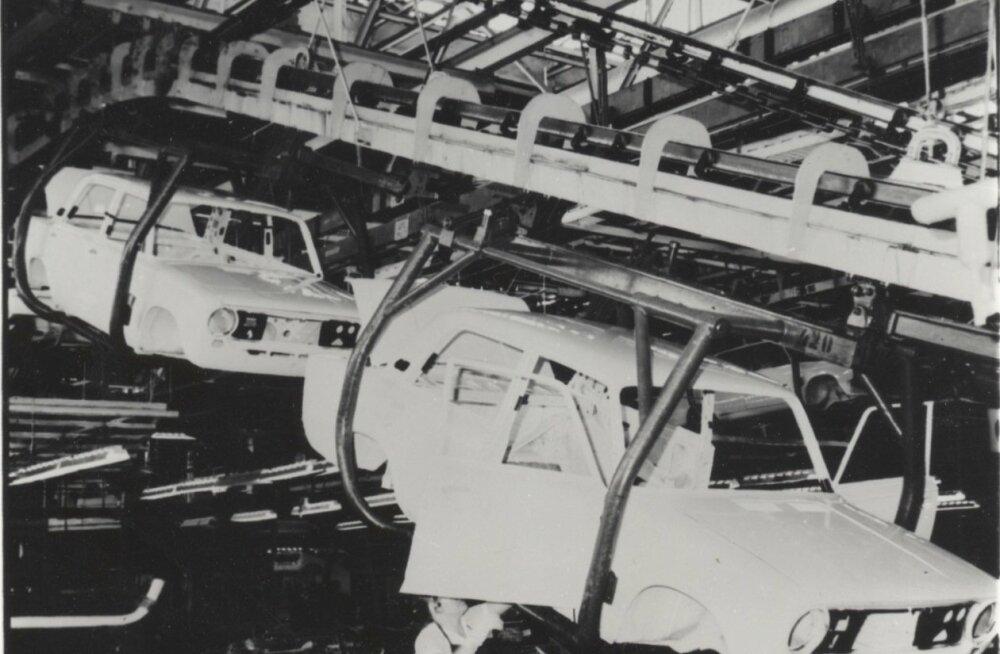 Togliatti tehase konveieritel valmis tippaegadel 2200 autot päevas.