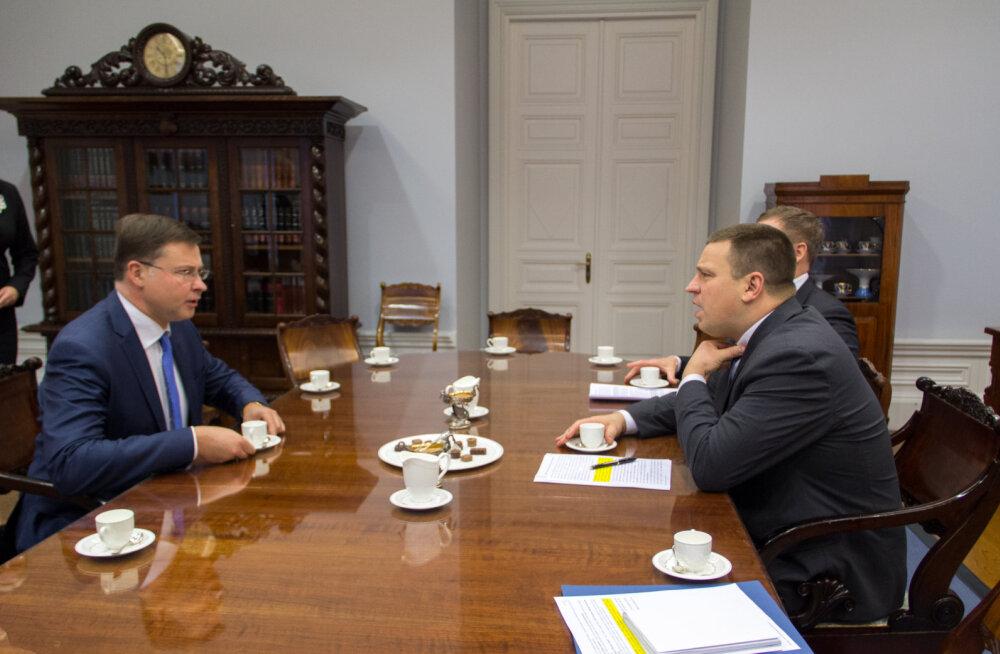 Ратас: Эстония серьезно относится к экономическим рекомендациям Еврокомиссии
