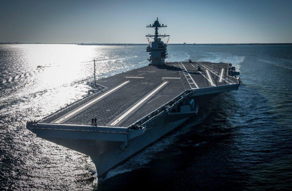 USS Gerald R. Ford hakkab kandma ligemale 75 lennukit või helikopterit ja 5000-liikmelist isikkoosseisu.