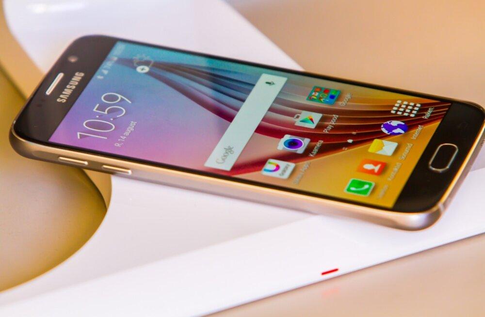 Juhtmevaba laadimine Samsung
